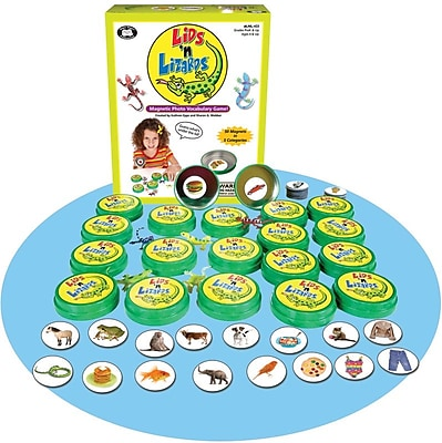 Super Duper Lids 'n Lizards Magnetic Photo Vocabulary Game 308196