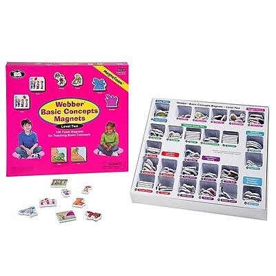 Super Duper® Webber® Basic Concepts MagneFoam™ Magnets Level 2 Game