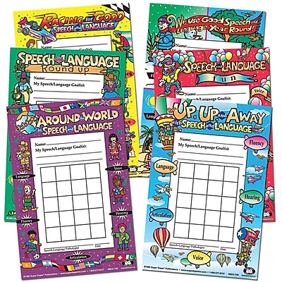 Super Duper Individual Incentive Chart Variety Pack 308204