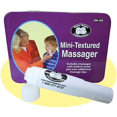Super Duper® Mini Textured Massager, Grades PreK and Up