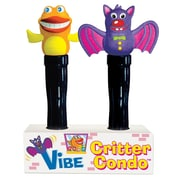 Super Duper® Vibe Critters™ Bat and Fish Characters, Grades PreK and Up