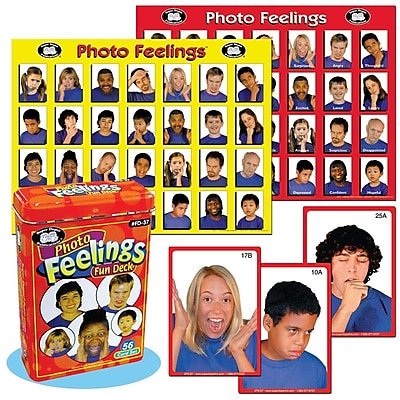 Super Duper® Photo Feelings Fun Deck® Cards