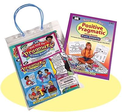 Super Duper® Positive Pragmatic® Combo Board Game
