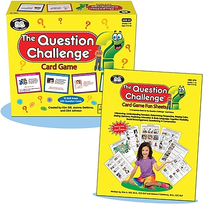 Super Duper The Question Challenge Card Game