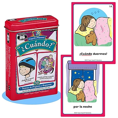 Super Duper® Spanish Cuando Cards