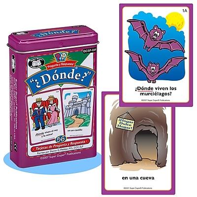 Super Duper® Spanish Donde Cards