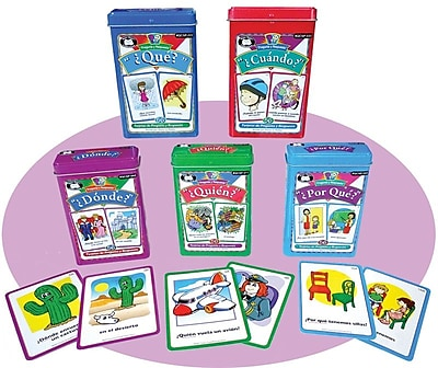Super Duper® Spanish Question and Answer Combo Cards