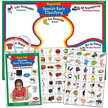 Super Duper® MagneTalk® Spanish Early Classifying Magnetic Game Board