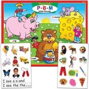 Super Duper® MagneTalk® P, B, M Initial Sounds Magnetic Game Board