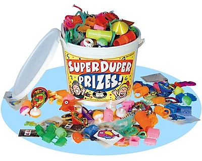 Super Duper® Prize Bucket of Motivational Toys & Prizes, 150 Pieces per Bucket