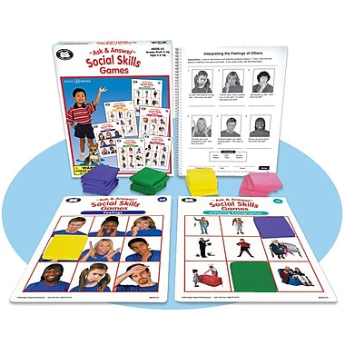 Super Duper® Ask & Answer® Social Skills Game Board