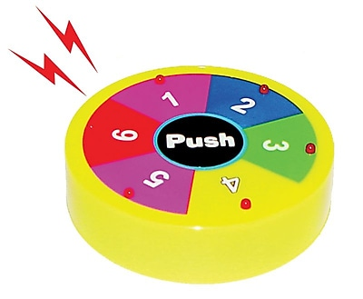 Super Duper® Electronic Spinner 1-6 Game Counter With Sound and Light, All Grades