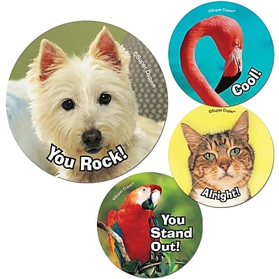 Super Duper® Amazing Animals Reward Stickers, 180/Pack