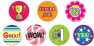 Super Duper® Incentive Reward Stickers, 1870/Pack