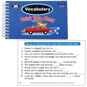 Super Duper® Vocabulary Quick Take Along Mini-Book, All Ages
