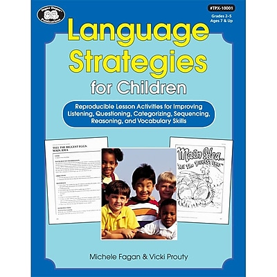 Super Duper® Language Strategies Book For Children