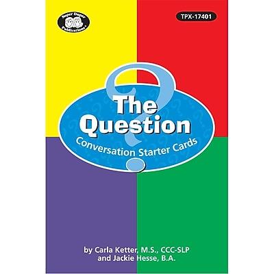 Super Duper® Question Conversation Starter Cards Set