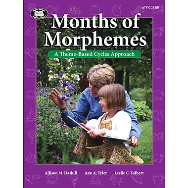 Super Duper® Months Of Morphemes Book, Grades PreK-1
