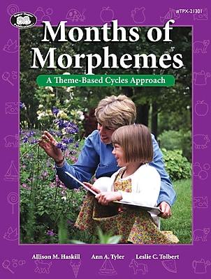 Super Duper® Months Of Morphemes Book, Grades PreK-1