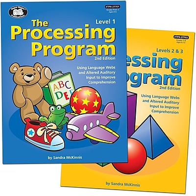 Super Duper® Processing Program Levels 1, 2 and 3 Combo