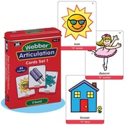 "Super Duper® Webber® Articulation ""S"" Deck Cards"