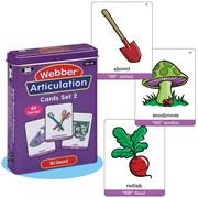 """Super Duper® Webber® Articulation """"SH"""" Deck Cards"""