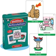 "Super Duper® Webber® Articulation ""TH"" Deck Cards"