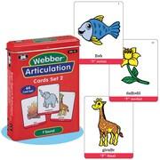 """Super Duper® Webber® Articulation """"F"""" Deck Cards"""