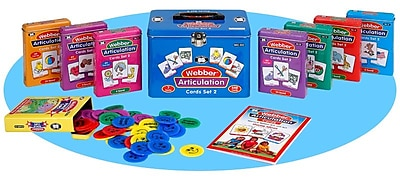 Super Duper® Webber® Combo 2 Articulation Cards