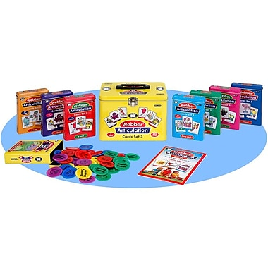 Super Duper® Webber® Combo 3 Articulation Cards