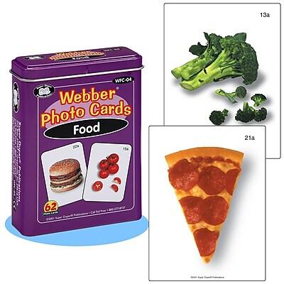 Super Duper® Webber® Food Photo Deck Cards