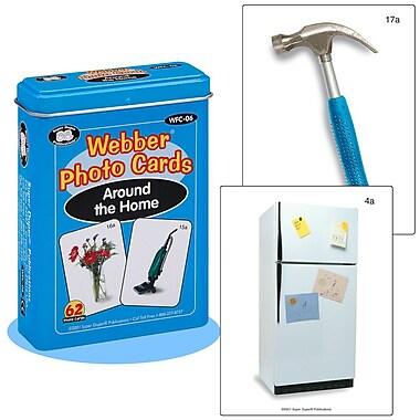 Super Duper® Webber® Around the Home Photo Deck Cards