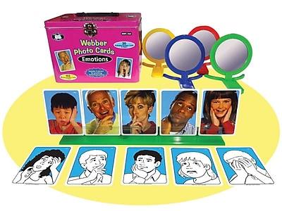 Super Duper® Webber® Emotions Photo Cards