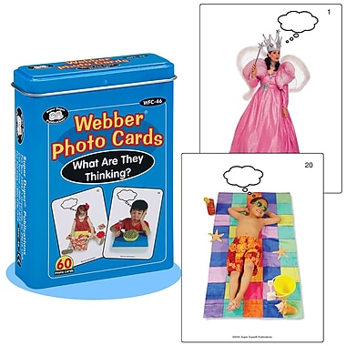 Super Duper® Webber® Photo Deck Cards, What Are They Thinking?