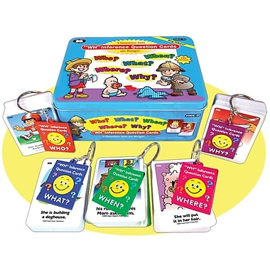 Super Duper® Ring Talkers® WH Inference Question Cards