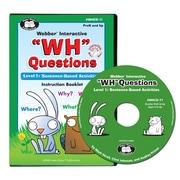 "Super Duper® Webber® Interactive ""WH"" Questions CD-ROM, Level 1"