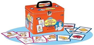 Super Duper® 400 Webber® Sign Language Cards