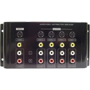 Calrad® Electronics 40-936B Composite SVHS Video and Stereo Audio Distribution Amplifier