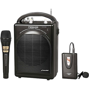 Pyle Rechargeable Portable PA System (PWMA200)