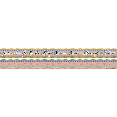Barker Creek Multi-Color Double Sided Trim, Pink Lemonade
