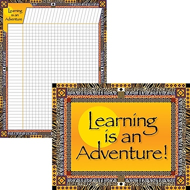 Barker Creek Learning Adventure Chart Set