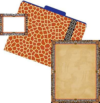 Barker Creek Get Organized Kit, Safari,107/PK