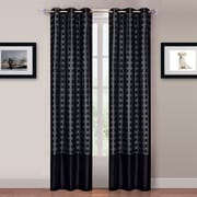 "Lavish Home™ Katrina 2 Panel 40"" x 84"" Grommet Curtain Set"