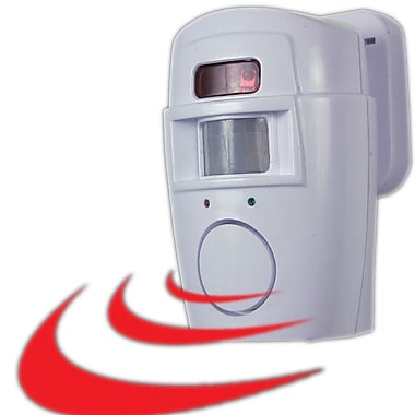 Trademark Global® 82-5532 2-In-1 Motion Sensor Alarm With Chime