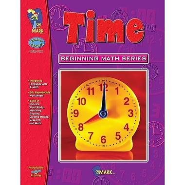Beginning Math Series: Time, Grade 1-3