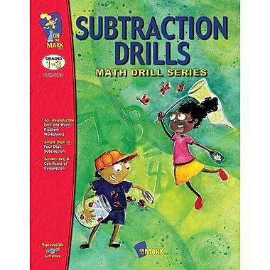 Subtraction Drills, Grade 1-3