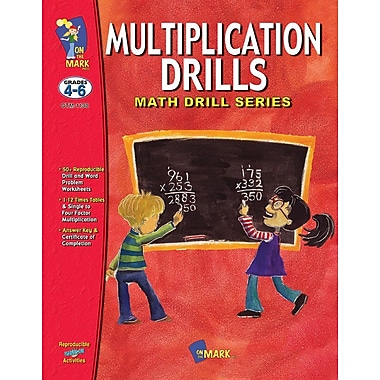 Multiplication Drills, Grade 4-6