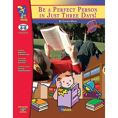 Be a Perfect Person in 3 Days Lit Link, Grade 4-6