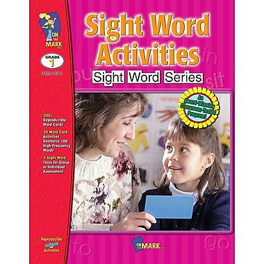 Sight Word Activities, Grade 1