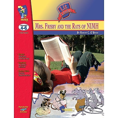 Mrs. Frisby and Rats of Nimh Lit Link, Grade 4-6